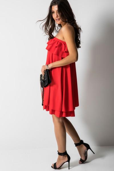 Giovanna Sukienka Hiszpanka Czerwona