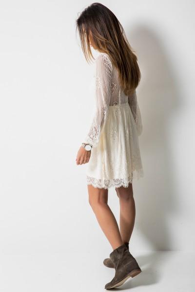 Selena Sukienka Ecru