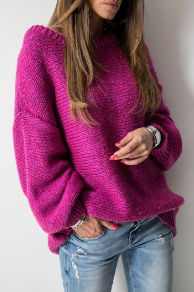 Colette Sweter Oversize Amarant