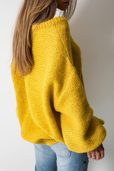 Colette Sweter Oversize Róż