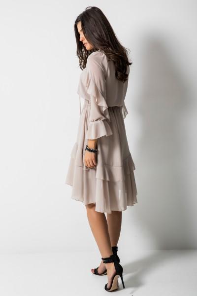Lauren Sukienka Beż