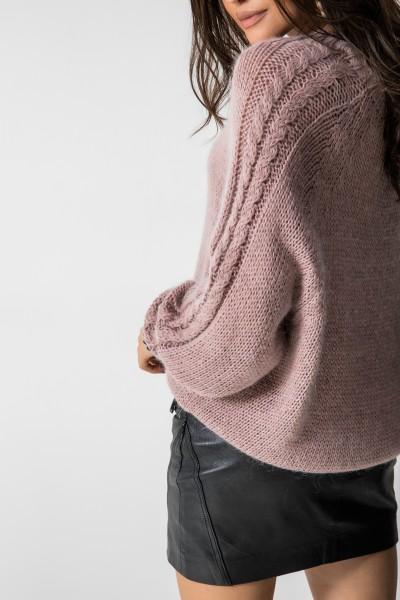 Irish Sweter Moher Róż