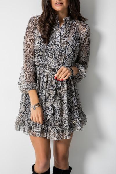 Mandy Sukienka Wężowy Print