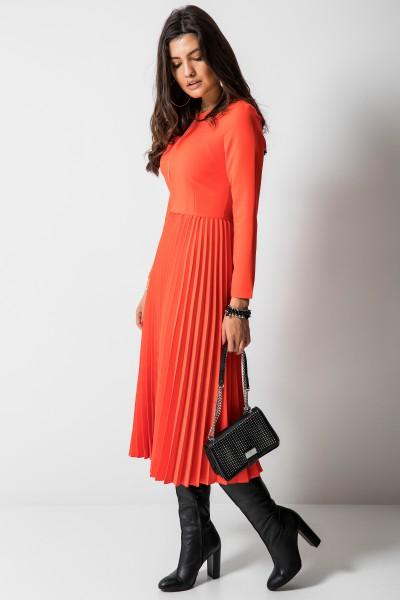 Madeleine Sukienka Plisowana Orange