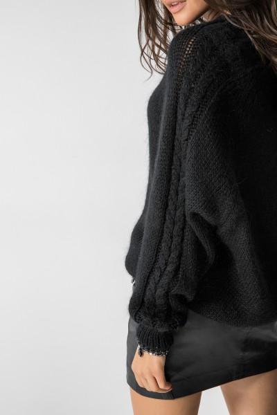 Irish Sweter Moher Czarny
