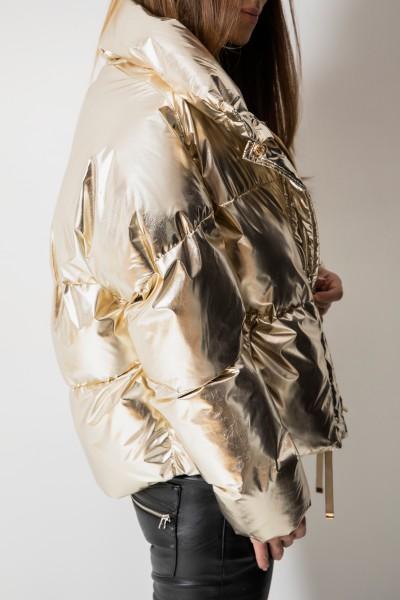 8121 Kurtka Puchowa Gold