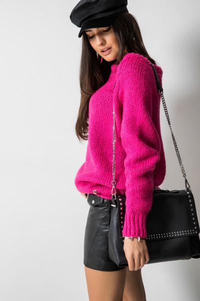 Sydney Sweter Oversize Amarant