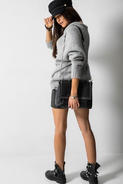 Sydney Sweter Oversize Szary