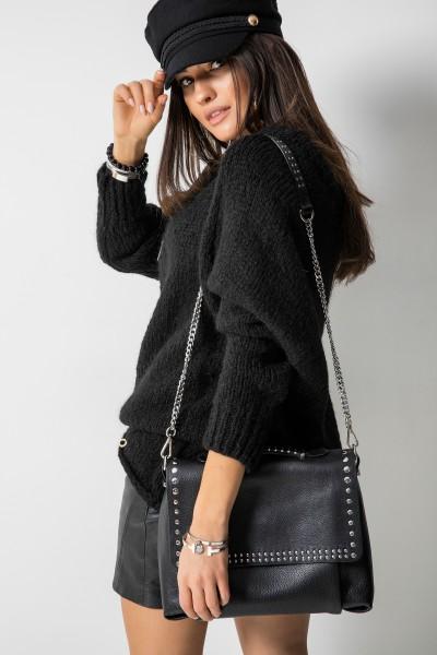 Sydney Sweter Oversize Czarny