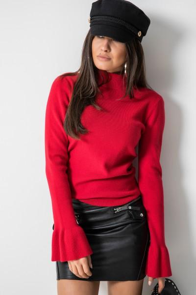 17122 Sweter Włoski Red