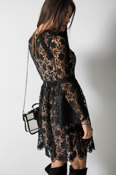 Star Sukienka Black/Beige