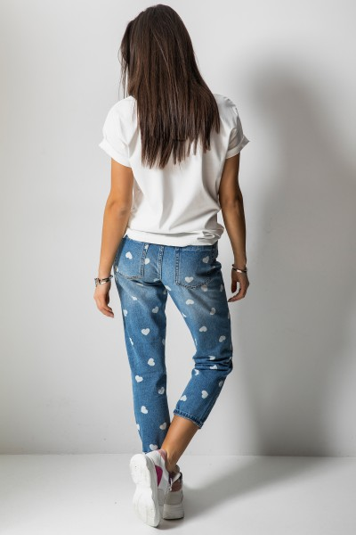 RD1073 Spodnie Boyfriend Jeans