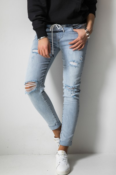 9009 Spodnie Baggy Jeans