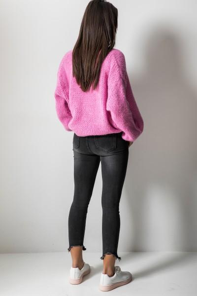 M1765 Spodnie Jeans Szare