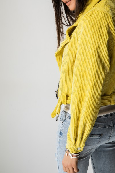 Ramoneska Sztruksowa Yellow