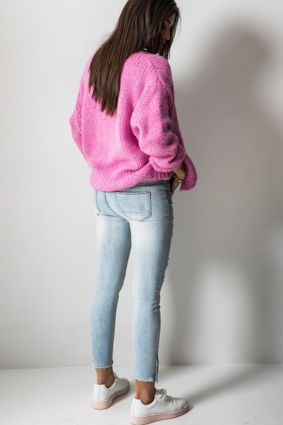 F672 Spodnie Jeans