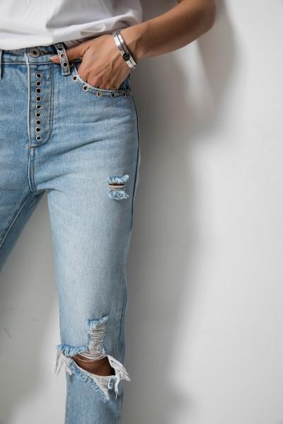 0051 Spodnie Boyfriend Jeans