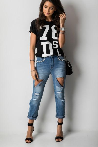 GJ0055 Spodnie Boyfriend Jeans