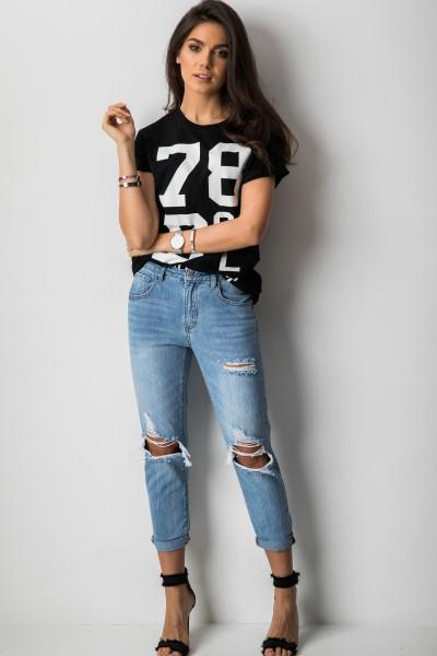 H8013 Spodnie Boyfriend Jeans