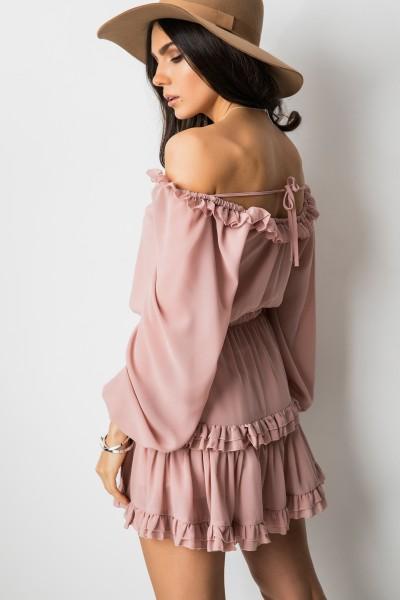 Francisca Sukienka Pudrowy Róż