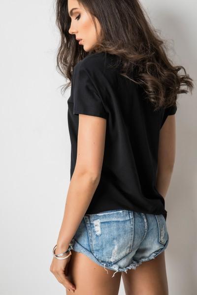 Parker T-shirt Black