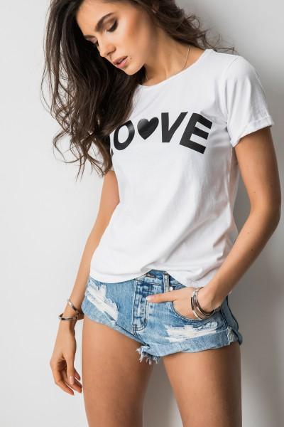 """T-shirt """"Love"""" Biel"""