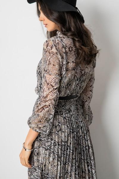 Samantha Sukienka Wężowy Print
