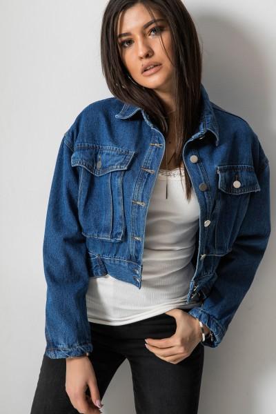 W9703 Katana Jeans Niebieska