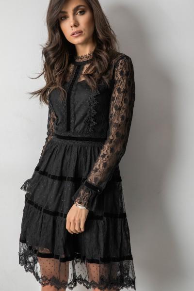 Calestina Sukienka Black