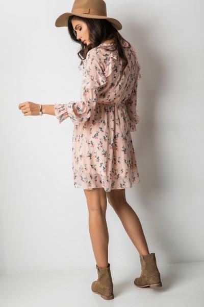 Antoniella Sukienka Pudrowy Róż