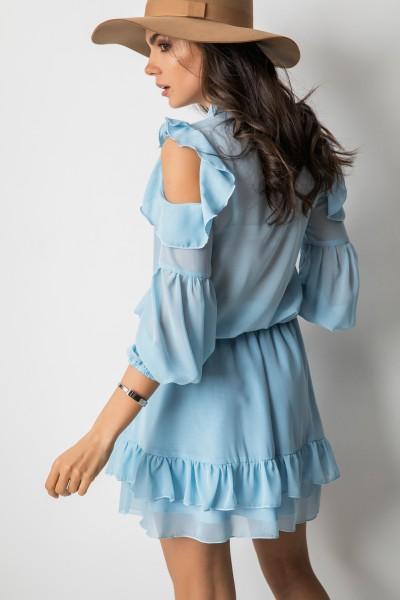 Suzie Sukienka Błękitna