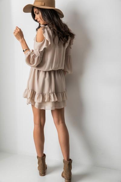 Suzie Sukienka Beż