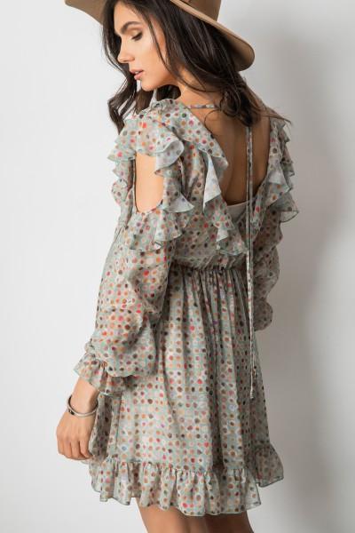 Justine Sukienka Print Rose