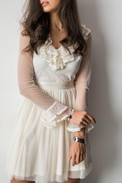 Sansa Sukienka Ecru