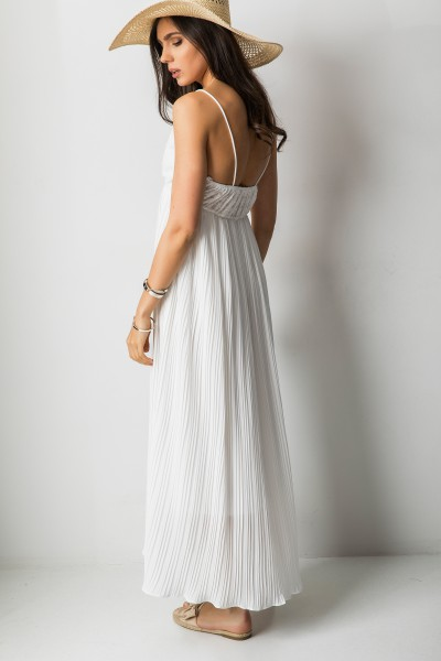 Alessia Sukienka Maxi Biel