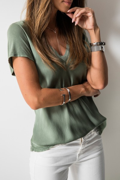 Amber T-shirt Khaki