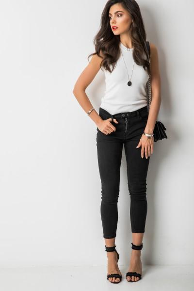 F692 Spodnie Czarne