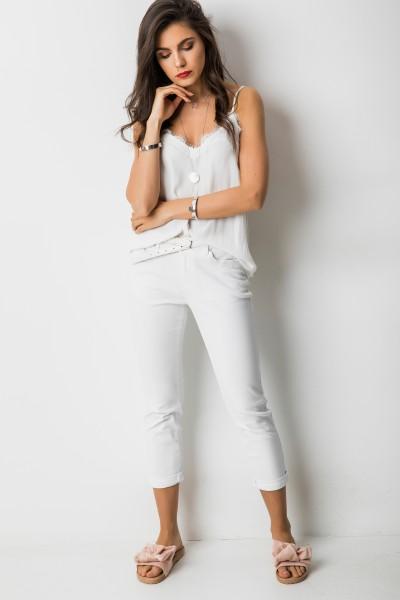 D816 Spodnie Biel