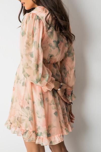 Cersei Sukienka Flowers Peach