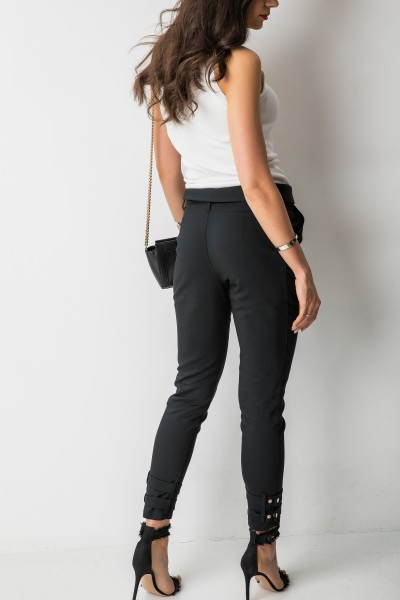 Santino Spodnie Czarne