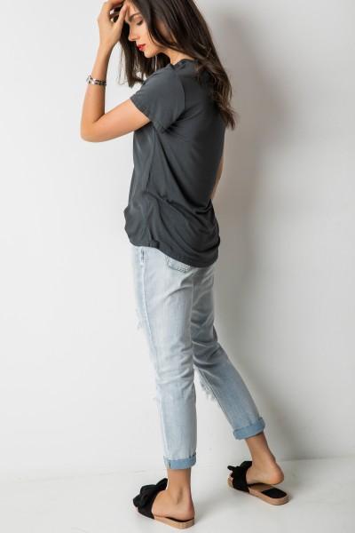Amber T-shirt Grafit