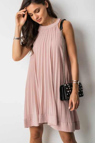 Lisa Sukienka Plisowana Róż
