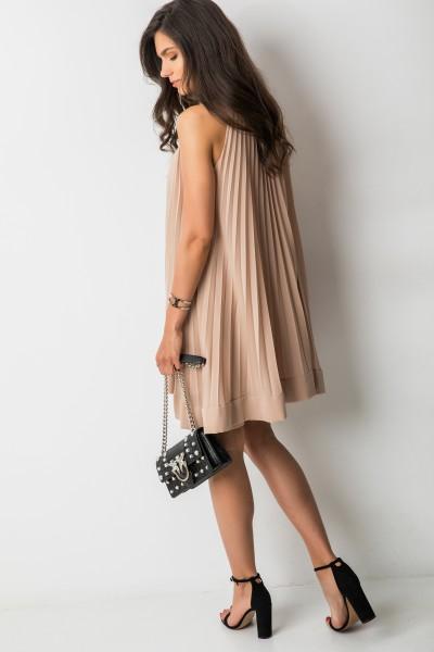 Lisa Sukienka Plisowana Beż