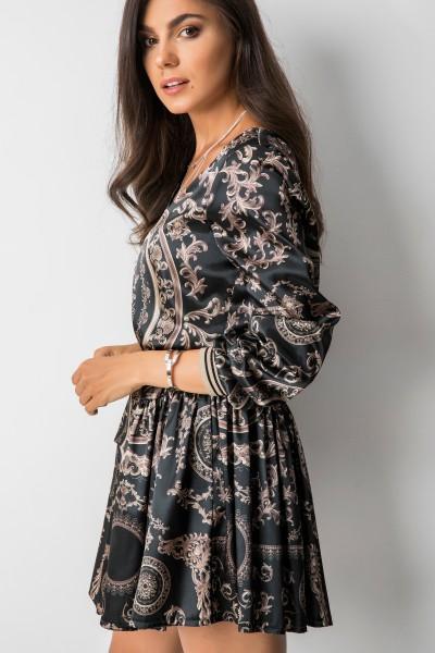 Casilda Sukienka Wzory Black