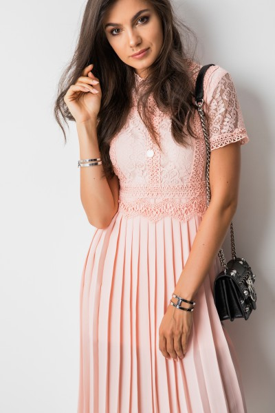 Josie Sukienka Midi Róż