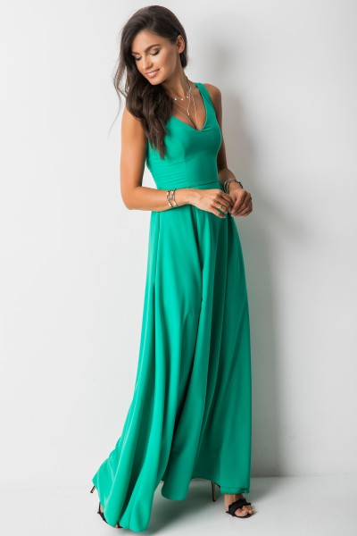 Evelyn Sukienka Maxi Green