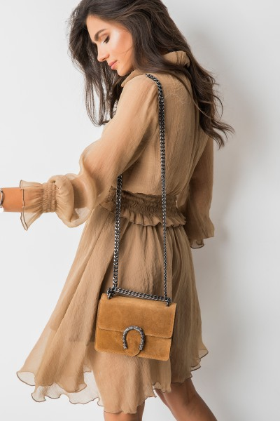 Chelsea Sukienka Camel