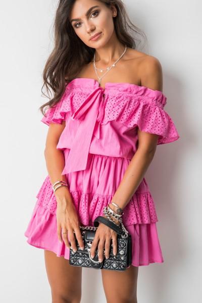 Emily Sukienka Hiszpanka Róż