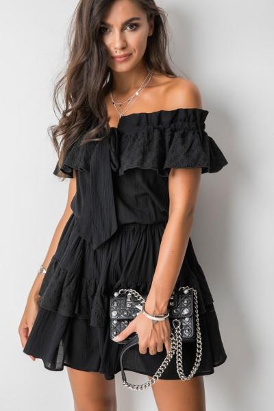 Emily Sukienka Hiszpanka Czarna