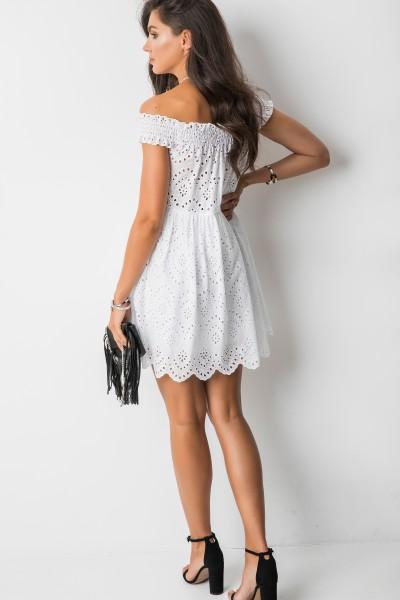 Aldina Sukienka Hiszpanka Biel
